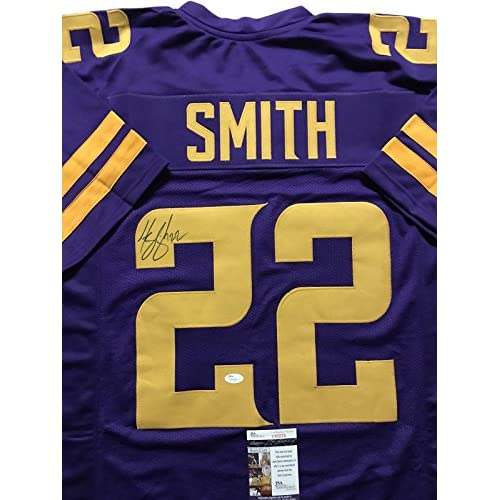 free shipping 0159d f2c34 Harrison Smith Autographed Jersey - Color Rush COA - JSA ...