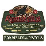 Remington Bear Embossed Metal Sign