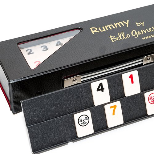 Ninth Avenue Rummy Game Set with LARGE Standard Size Numbers