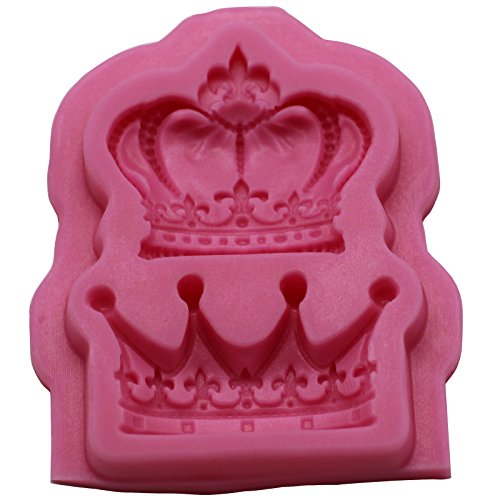 funshowcase-2-cavity-royal-crown-fondant-candy-silicone-mold-for-sugarcraft-cake-decoration-cupcake-