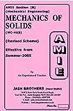 AMIE Mechanics of Solids MC 403 Solved Paper