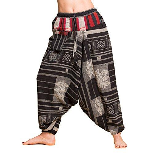 Pantaloni Schwarz Taglio 08 Donna largo PANASIAM 6dq4pw6