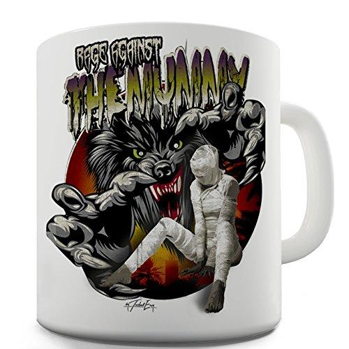 Twisted Envy Rage Against The Mummy Ceramic Novelty Gift Mug