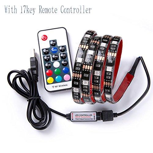 Rgb Led Home Theater Accent Lighting Kit: LED Strip Lights, USB TV Backlight Kit RGB Bias Lighting