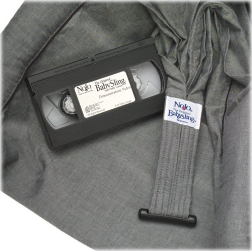 e6269b3280f Amazon.com   Crown Crafts The Original NoJo BabySling by Dr. Sears - Black  Chambray (Discontinued by Manufacturer)   Child Carrier Slings   Baby