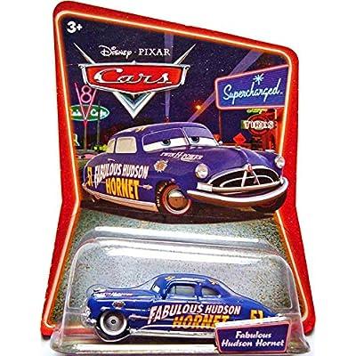 Disney Pixar Cars Supercharged Fabulous Hudson Hornet 1:55 Die Cast Car: Toys & Games