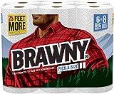 Brawny Paper Towels, Pick-A-Size, White, Big Roll – 6 Pk Reviews