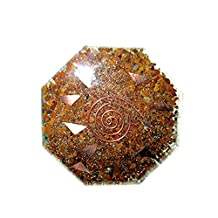 Jet Wow Yellow Jasper Orgone Vastu Plate Free Booklet Jet International Therapy Energy Generator Crystal Gemstones Unique Rare Science Construction Vedic Astrology Wealth Health Cosmic Intelligence Five Elements Copper Metal Mix Rare Healing Positive Energy Tetrahedron Sacred Feng Shui Geometry Memory Concentration Meditation Spiritual Psychic Piezo Electric Effect Business