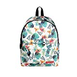 Students Fashion Printing Zipper Rucksack, YiMiky Retro...
