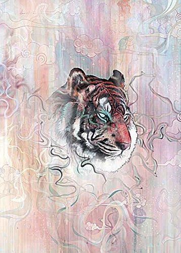 【正規品質保証】 幻の性質マットミラー動物虎猫ファンタジーポスター(選択サイズ、印刷またはキャンバス) 20x28 Unstretched Unstretched B00N32HEU6 Canvas IC-M1195D20X28C 20x28 Unstretched Canvas Canvas B00N32HEU6, trip:5d46a8af --- narvafouette.eu