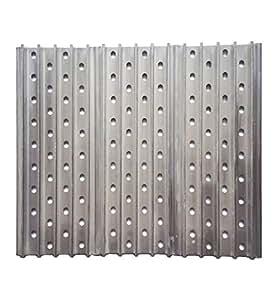 "BBQ funland Set of Three 13.75"" aluminum Interlocking Raised Rail Panels/grates (13.75""x 5.25"")"