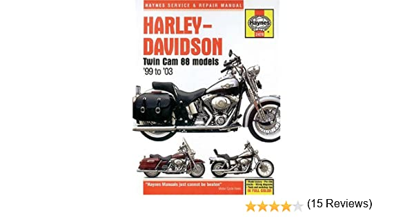 Harley-Davidson Twin Cam 88 Models 99 to 03 Bk. 2478 Haynes Manuals