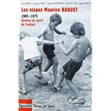 Stages maurice baquet 1965-1975 les