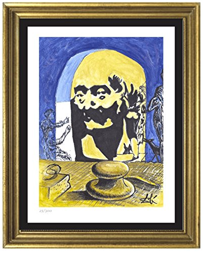 (Salvador Dali Signed & Hand-numbered Limited Edition Lithograph Print,