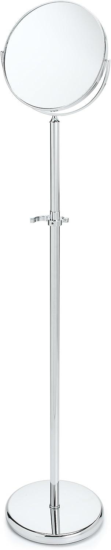 "Taymor 01-1055 Adjustable Floor Mirror, Chrome, 49"" by 80"""