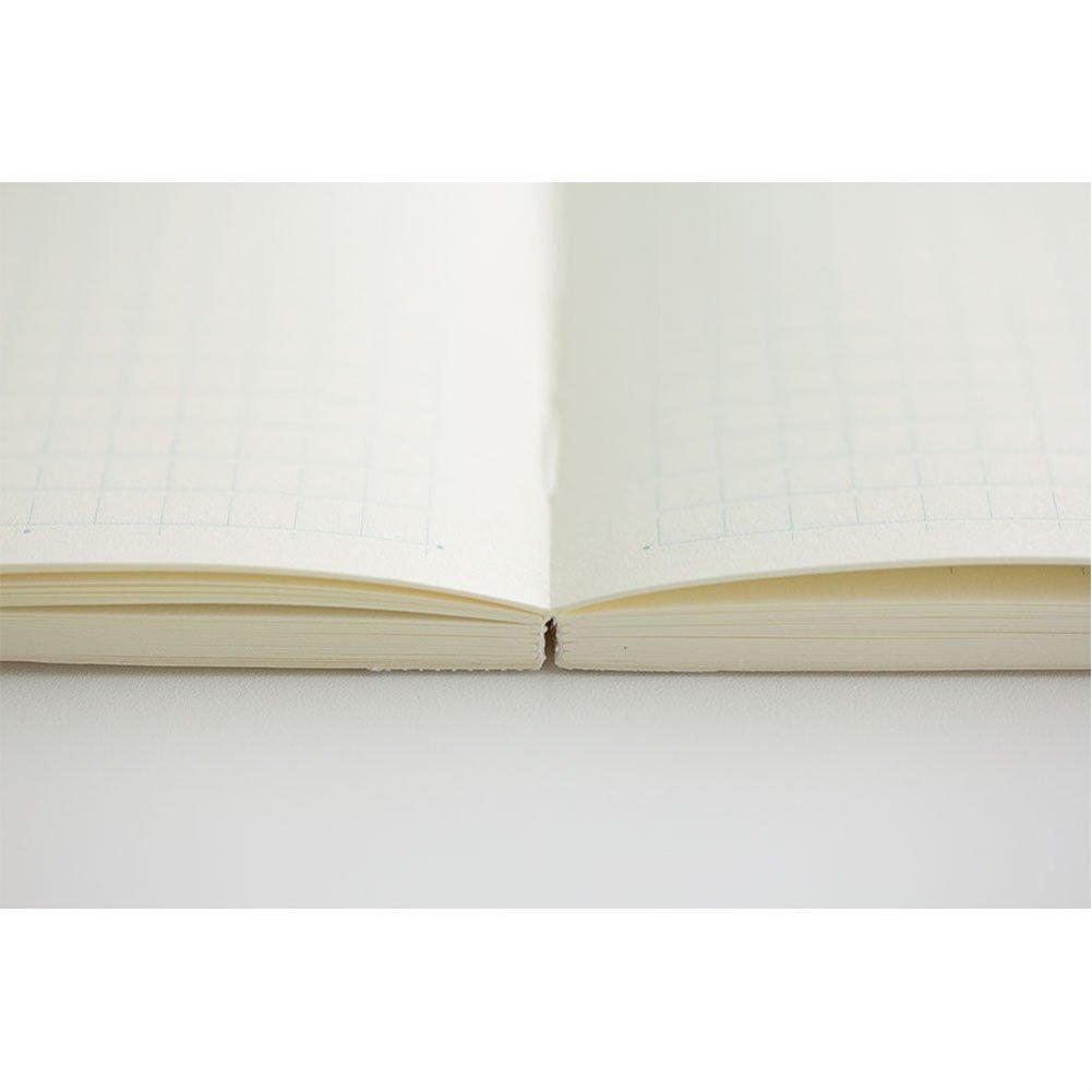 midori md notebook a5 grid paper 15003006