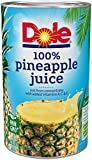 Dole Pineapple Juice, 46 Ounce (Pack of 6)