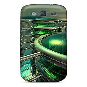 Awesome Cases Covers/Galaxy S3 Defender Cases Covers(3d Dream City)