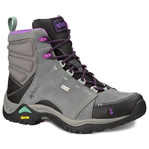 Ahnu Womens Montara Hiking Boot Dark Grey