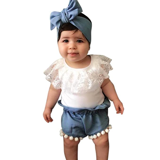 Conjunto de ropa Switchali Recién nacido Bebé Niña Verano camisas floral blusas de ninas de moda