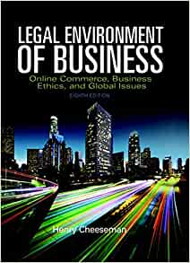 Legal Environment of Business, A Managerial Approach: Theory to Practice / Edition 3