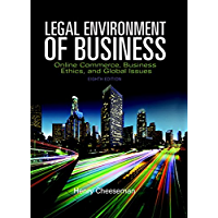 Legal Environment of Business: Online Commerce, Ethics, and Global Issues (2-downloads)