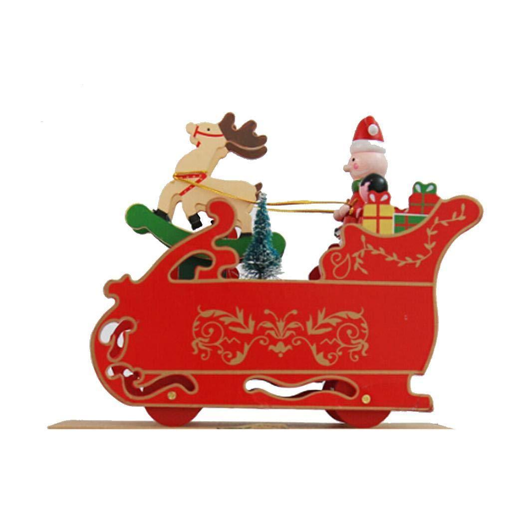 有名なブランド Legros 木製 クリスマス 機関車 LGVB038776_2 雪 雪 車 機関車 オルゴール ギフト パーティー ホームデコレーション LGVB038776_2 B07K76MB7S Type2 Deer, 袋井市:7e5acf8f --- arcego.dominiotemporario.com