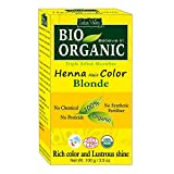 #2: Indus Valley BIO Organic Natural Blonde Henna Hair Color For Grey Hairs-100gm