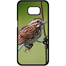 Y.H.X Lovers Gifts Awesome Defender Hard Plastic Case Cover For sparrow bird sitting Samsung Galaxy S8+ Plus