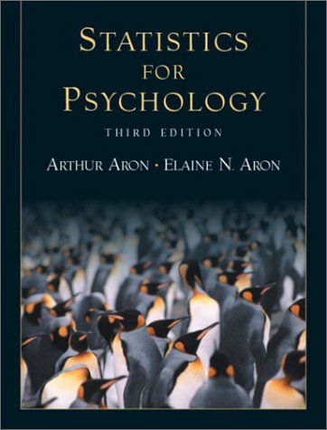 Statistics for Psychology (3rd Edition)