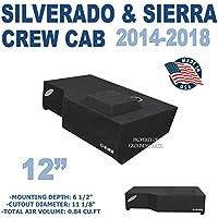 Chevy Silverado & GMC Sierra Crew Cab 12 Subwoofer Box