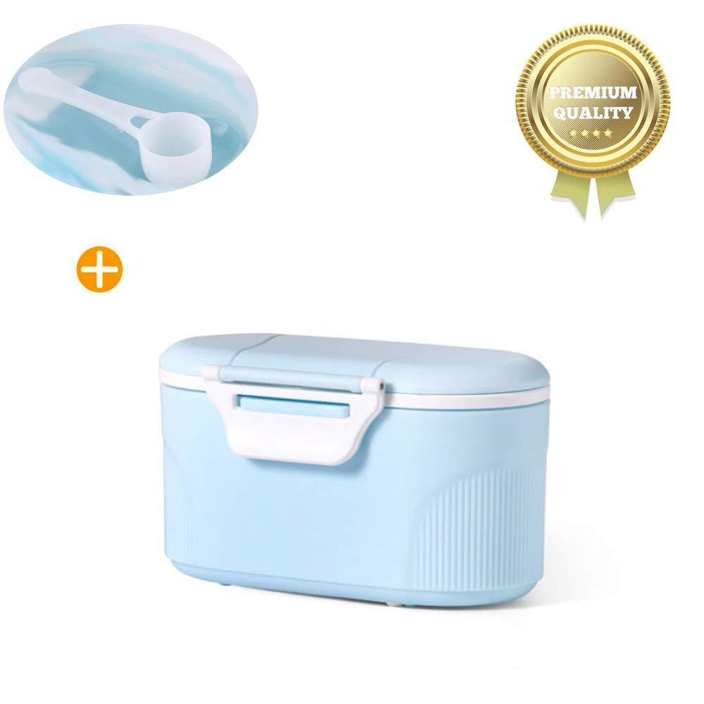 Grand Vert Sunshine smile Distributeur de lait en poudre,Doseur de lait en poudre,r/écipient /à lait portable,Baby Bo/îte de Conservation,Lait en Poudre Formule Distributeur!