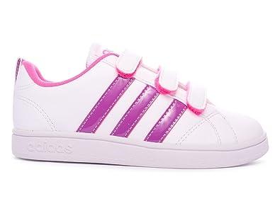 los angeles 6d3bd 54240 adidas Advantage CMF C Shoes For Children, Unisex – Child White Size  1