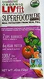 4-Pack Better Body Foods ORGANIC LIVFIT Superfood Blend (net wt .42 oz each)