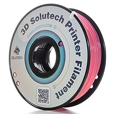 3D Solutech Hot Pink 1.75mm PLA 3D Printer Filament 2.2 LBS (1.0KG) - 100% USA
