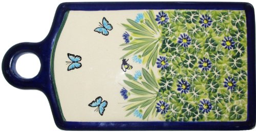 Polish Pottery Cutting or Cheese Board -
