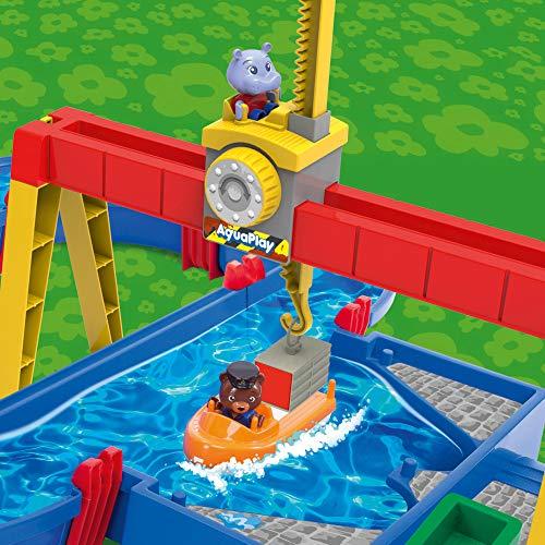 BIG AQUAPLAY 8700001532 Aquaplay Container Port, Blue
