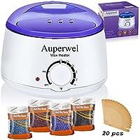 Auperwel Wax Warmer Hair Waxing Kit
