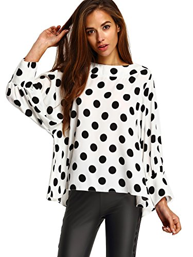SheIn Womens Batwing Sleeve Blouse product image