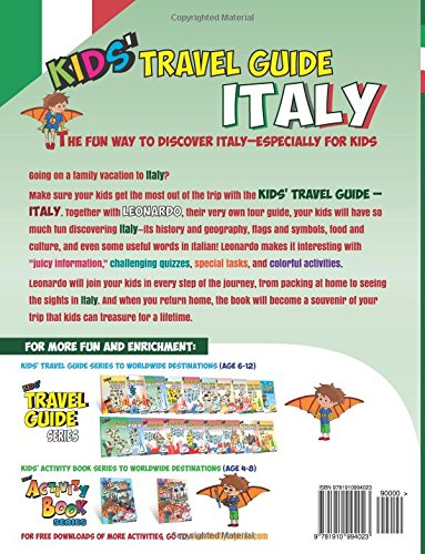 Kids Travel Guide Italy The Fun Way To Discover Italy