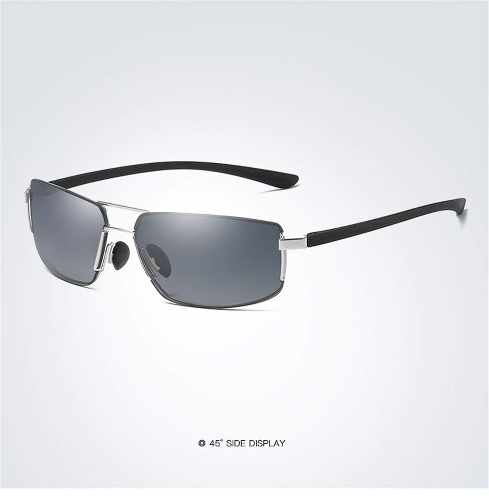 Ruanyi Gafas de Sol sin Marco Retro UV400 Gafas cuadradas ...