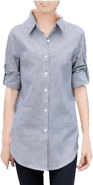 N\P Camisa suelta con fondo de felpa blanca suelta para mujer ...