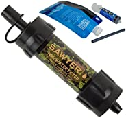 Sawyer Products SP2105 Mini Water Filtration SYSTEM, Blue & b