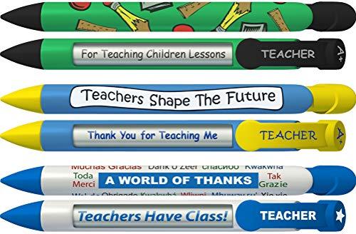 (Greeting Pen Teacher Appreciation Trio Rotating Message 6 Pen Set (36076))