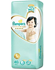Pampers Premium Care Tape Diapers(9-14kg) (Packaging may vary), Large, 40 ct
