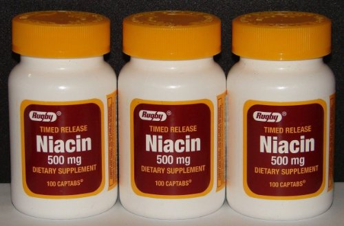 Rugby Niacin 500mg Release Captabs product image
