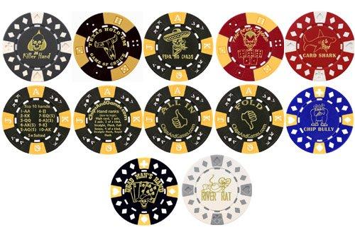 新品?正規品  カードカバーPoker Chipsとして使用カードガード 合計10の – 合計10の – B000VJSEPS, エース:95162a6d --- arianechie.dominiotemporario.com