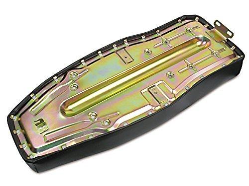 mitIFA Schriftzug Sitzbank glatt schwarz f/ür Simson S51