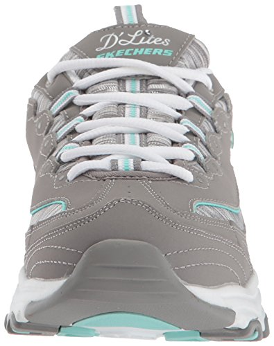Interlude Gray Multi Formateurs Skechers Synthetic Lites Femme D Leather 7BBqwt0O