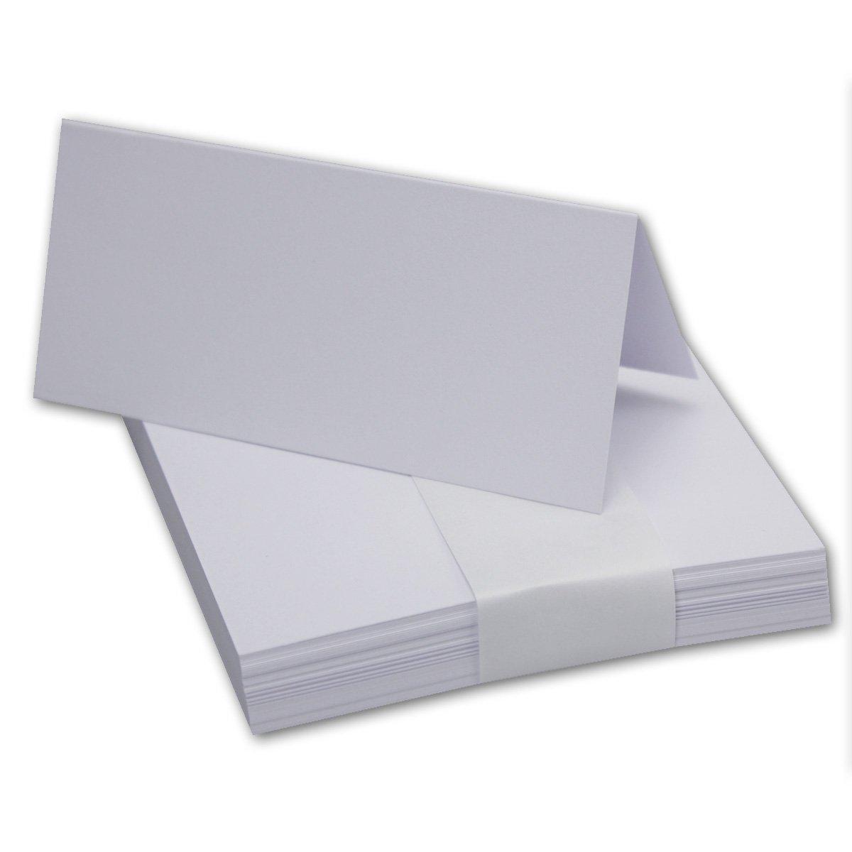 segnaposto da tavolo colorati Neuser 100 x 45 mm 50 pezzi 29 Rot